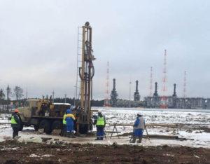 2018 Строительство участка северо-европейского газопровода